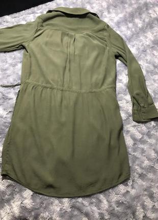 Платье-рубашка р. 36