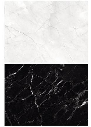 Фотофон однотонный (двухсторонний) фон для съемки фотозона фото черный и белый мрамор