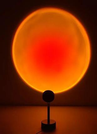 Лампа закат радуга ночник светильник тикток для вашего дома