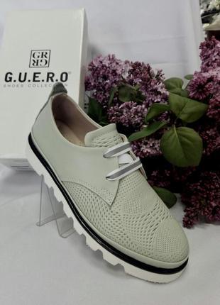 Женские туфли без каблука, кеды мятного цвета