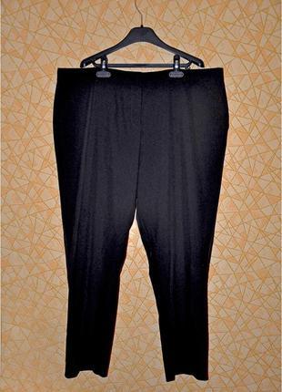 👖базовые черные брюки тм 'nutmeg' р-р 20 uk, 48 eur, 54-56 rus