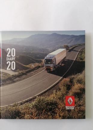 Записной блокнот тетрадь renault trucks