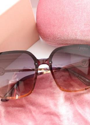 Новые очки линза градиент