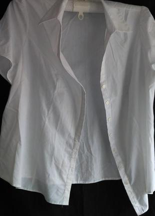 Хорошая летняя  белая женская блуза