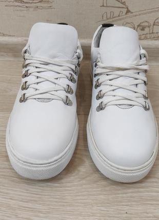 Мужские кожаные туфли-кроссовки немецкой фирмы am shoe company.