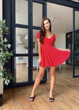 Платье с плечиками
