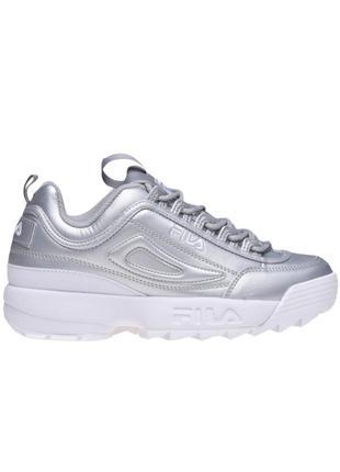Fila disruptor ii premium metallic ,женские кроссовки, оригинал 5fm00040-662