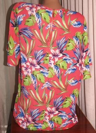 Классная блуза (л замеры) на молнии с узором, изумительно смотрится3 фото