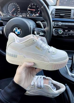 Модные женские кроссовки puma cali sport mix