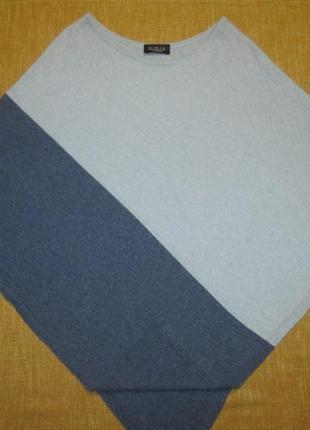 Кашемировая кофта пончо luella cashmere