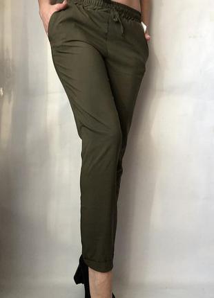Летние лёгкие женские штаны софт.