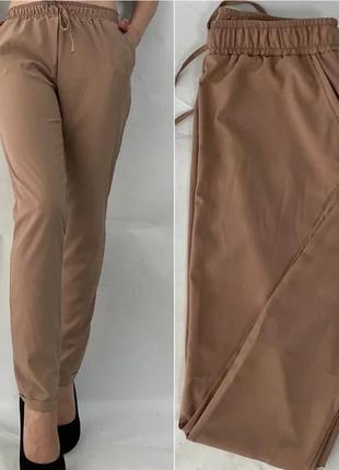 Летние лёгкие женские штаны софт, брюки летние.