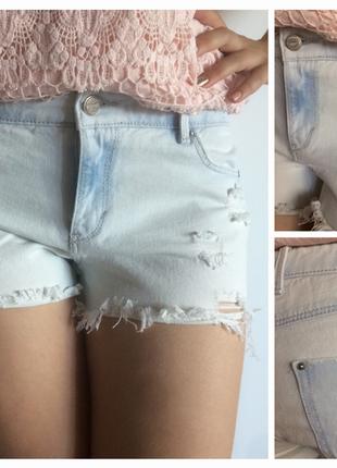 Шорты,шорты джинсовые,рваные шорты, шортики ,трендовые шорты