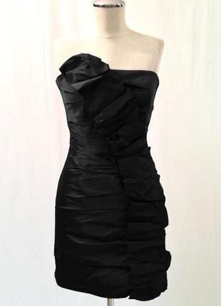 Коктейльное платье-бюстье американского бренда jessica mcclintock, р. 42 {s}