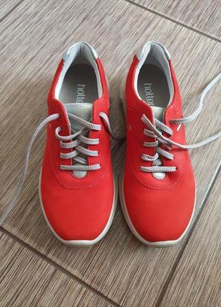 Женские кожаные кроссовки hotter rebound, оригинал