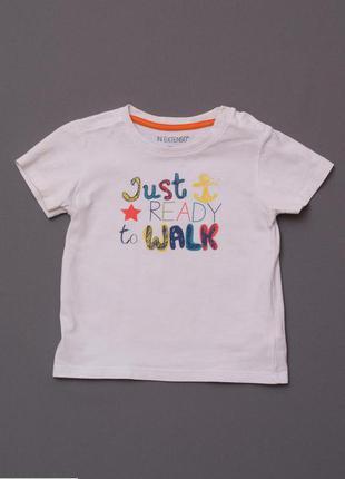 Распродажа - все по 40 грн!футболка in extenso размер 2 года / 92 см белая