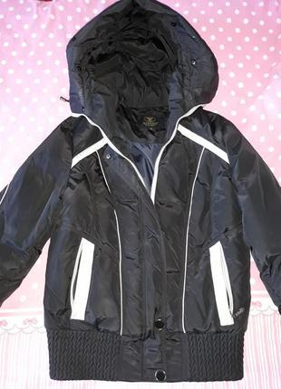 Куртка теплая на натуральном пухе размер л