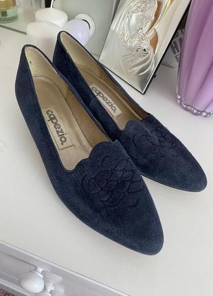 Замшеві туфлі capezio