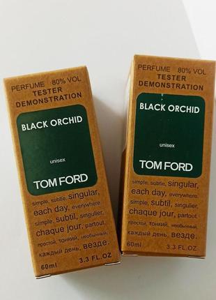 Black orchid  тестер унисекс из оаэ,стойкие парфюмы для женщин
