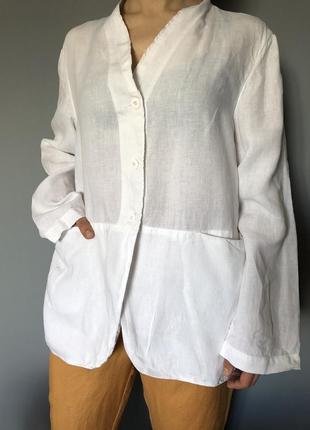 Лляний літній піджак