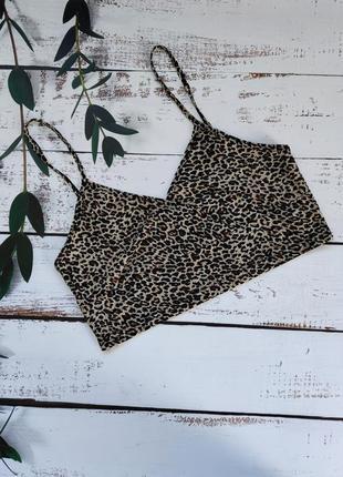 Топ жіночий/ леопардовий принт