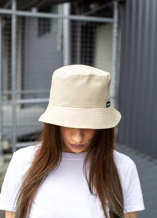 Панамка without logo beige woman