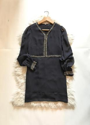 Шелковое платье french connection