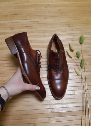Туфлі з натуральної шкіри san marina