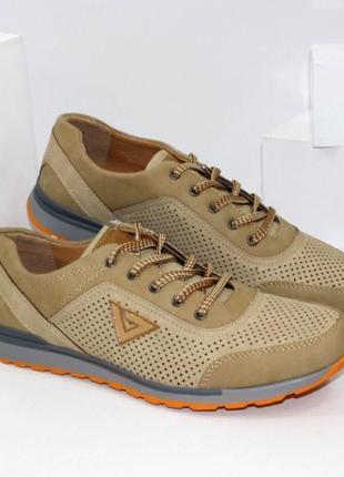 Легкие летние мужские туфли