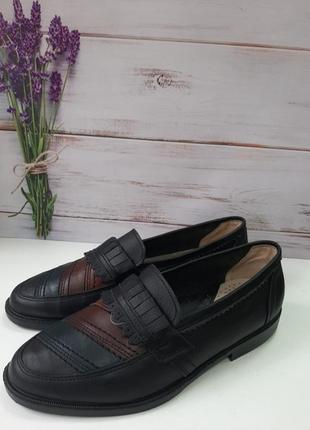 Туфли мужские размер 41 кожа.