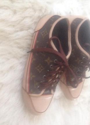 Кеды кроссовки louis vuitton original ! (24.5 см)