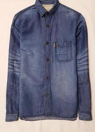 Burberry brit оригинал рубашка сорочка натуральный