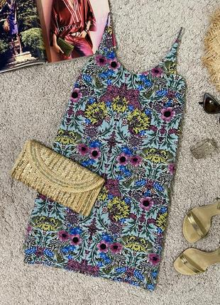 Базовое платье в цветочный принт №420max