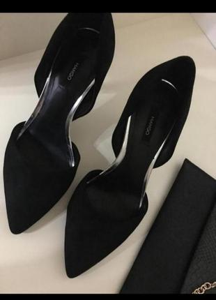 Туфли лодочки на праздник на выпускной манго mango