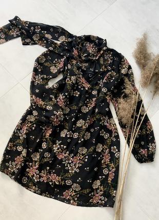 Шифонове плаття в квіти atmosphere