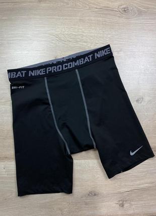 Компрессионные шорты nike