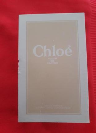 Chloe fleur de parfum пробник