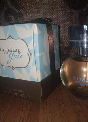 Парфюмерная вода thinking of you - mary kay