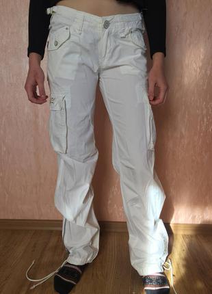 Летние штаны с карманами