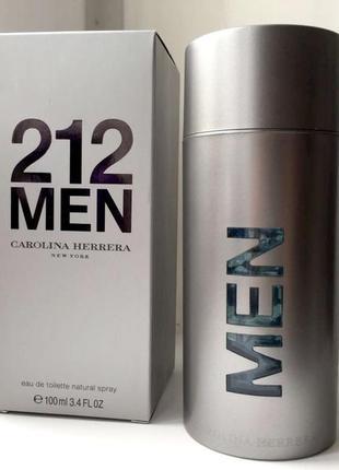 Carolina herrera 212 men оригинал_eau de toilette 10 мл затест