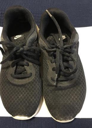 Кроссовки nike чёрные