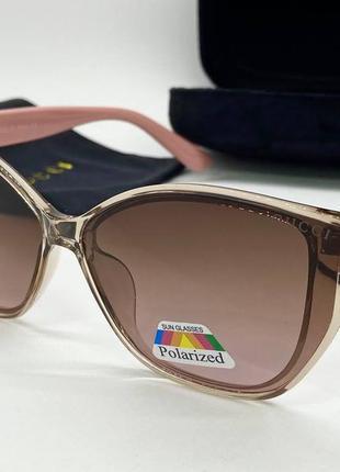 Gucci женские солнцезащитные очки розовые