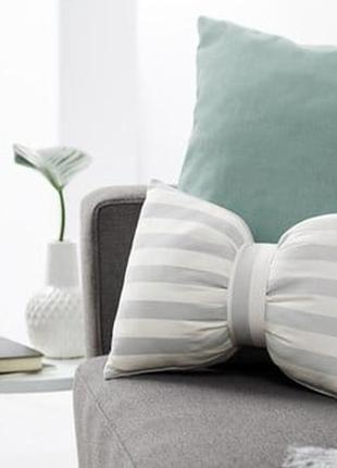 Декоративная полосатая подушка с завязкой от tcm tchibo, германия