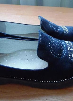 Туфлі для дівчинки 34 р.