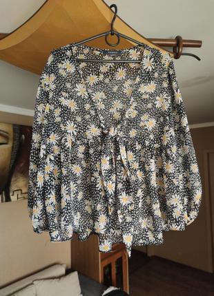 ❤финальная распродажа❤шикарная легкая блуза