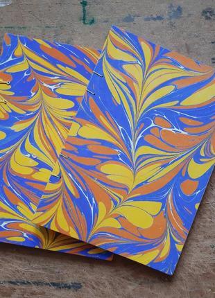 Блокнот а5 20 листов hand made с бумагой для акварели (хлопок)