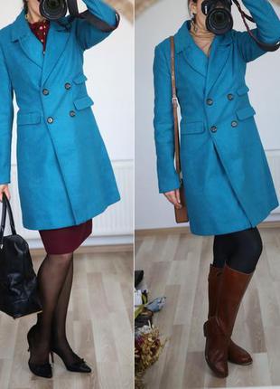 Пальто классика,очень красивый цвет и крой,весна-осень-зима,s-m