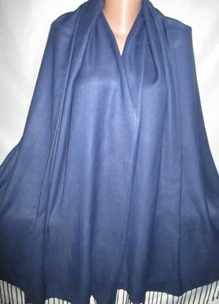Большой шарф-палантин для неё или него3 фото