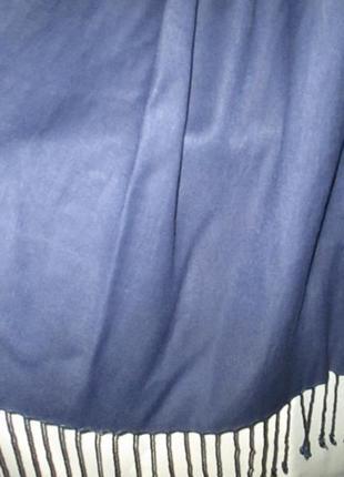 Большой шарф-палантин для неё или него7 фото