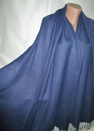 Большой шарф-палантин для неё или него6 фото